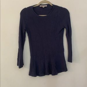 Loft fitted sweater, longer in front slightly.